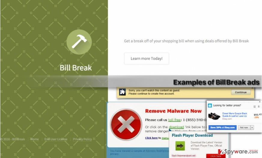 Bill Break virus