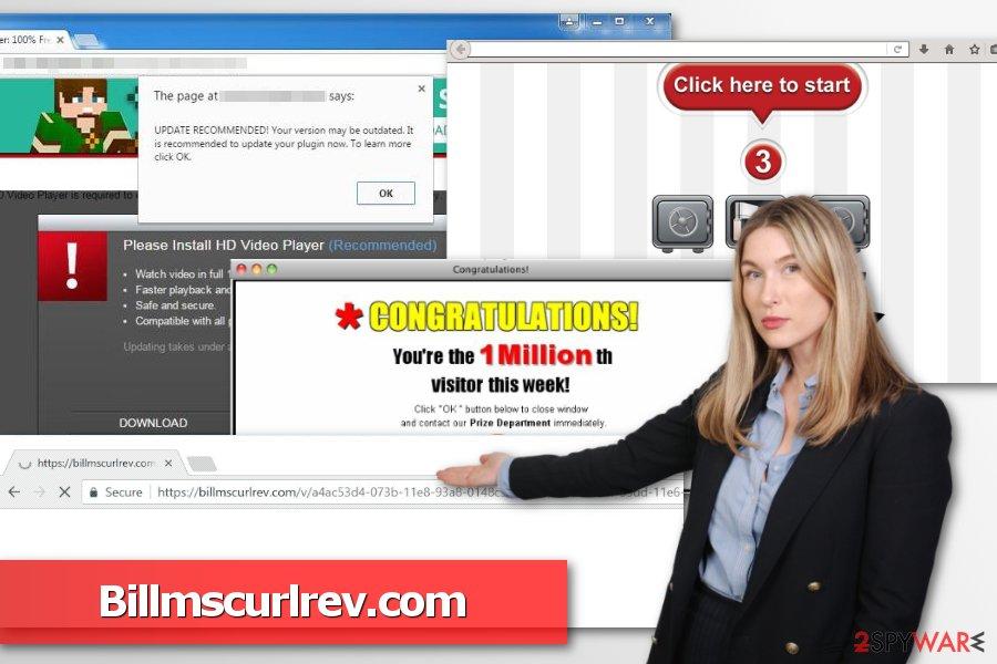 Image of Billmscurlrev redirect virus