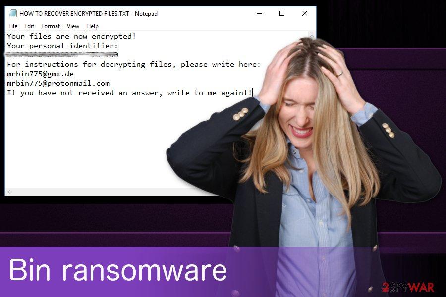 Bin ransomware