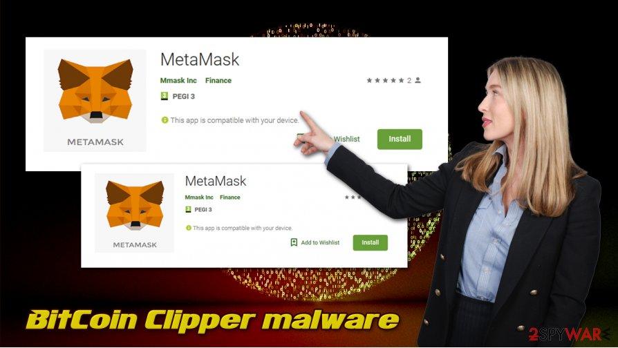 BitCoin Clipper virus