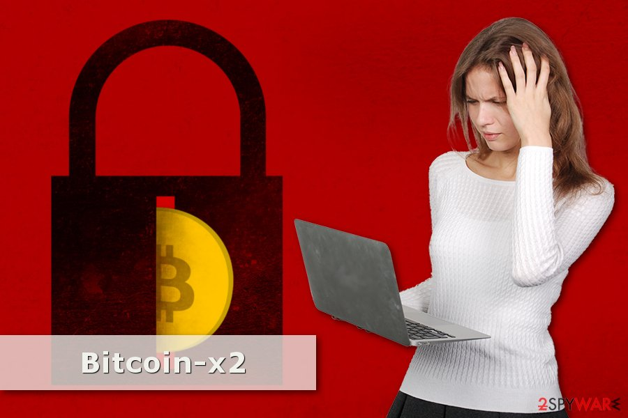 Picture of Bitcoin-x2 ransomware virus
