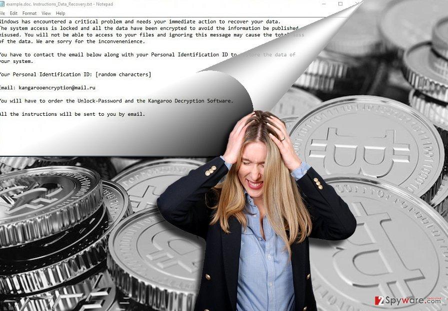 BitKangoroo ransomware example