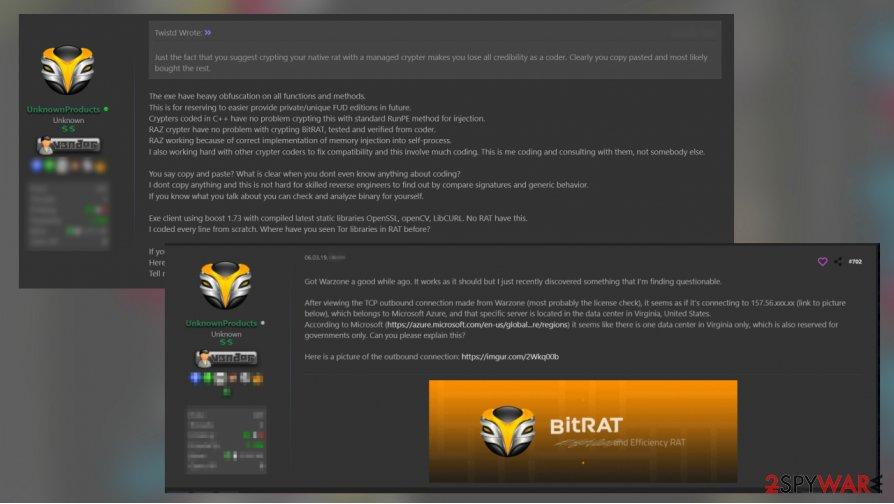 BitRAT virus