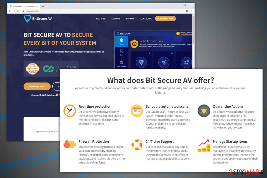 BitSecure AV fake system optimizer