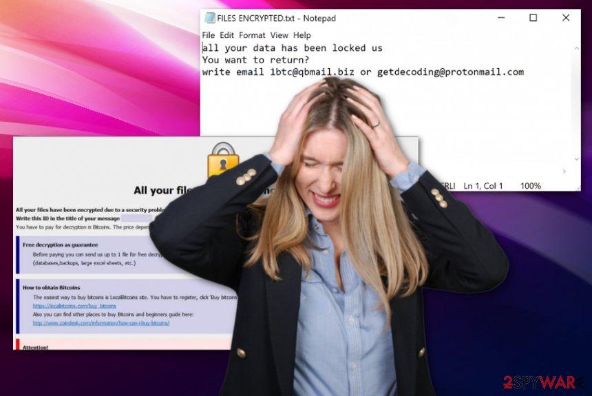 Bitx ransomware virus