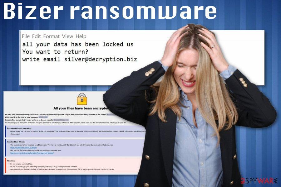 Bizer ransomware virus