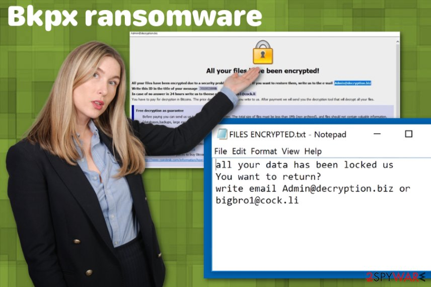 Bkpx ransomware