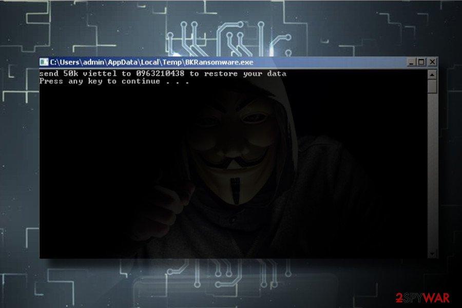 BKRansomware ransomware virus