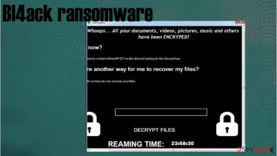 Bl4ack ransomware