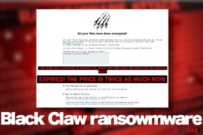 Black Claw ransomware