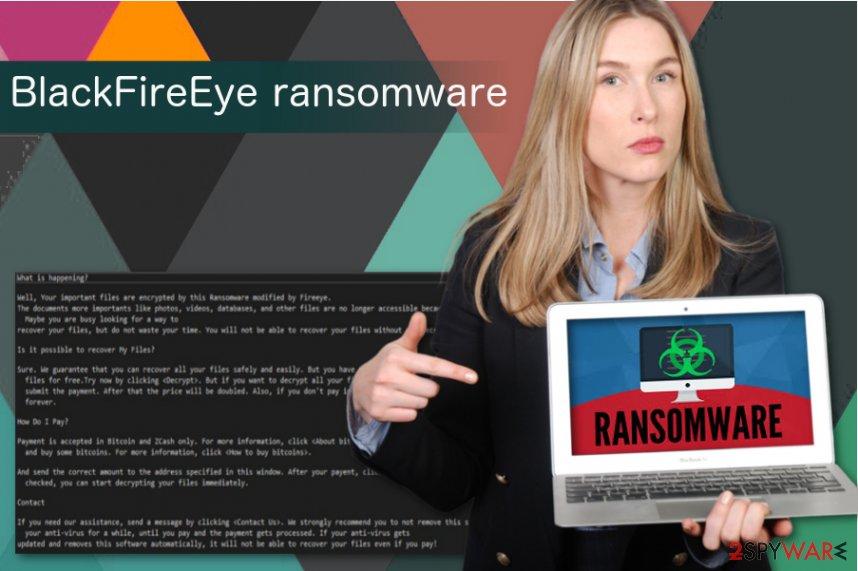 BlackFireEye ransomware virus