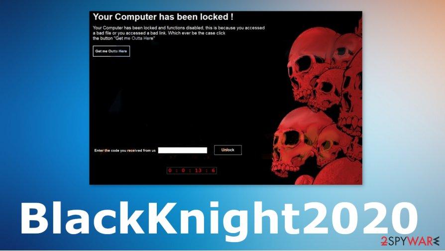 BlackKnight2020 ransomware