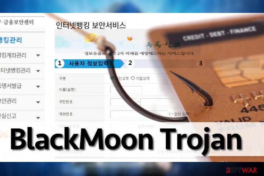 BlackMoon trojan