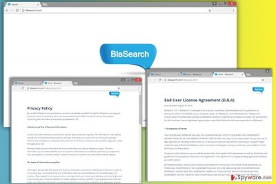 Screenshot of Blasearch.com