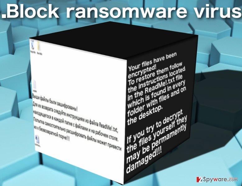 .Block ransomware virus image