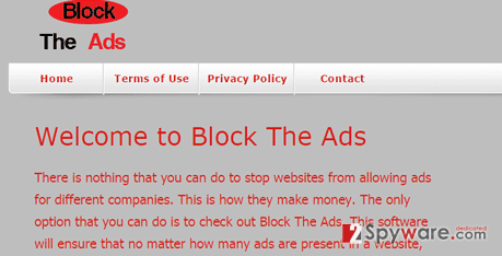 ads by Block The Ads