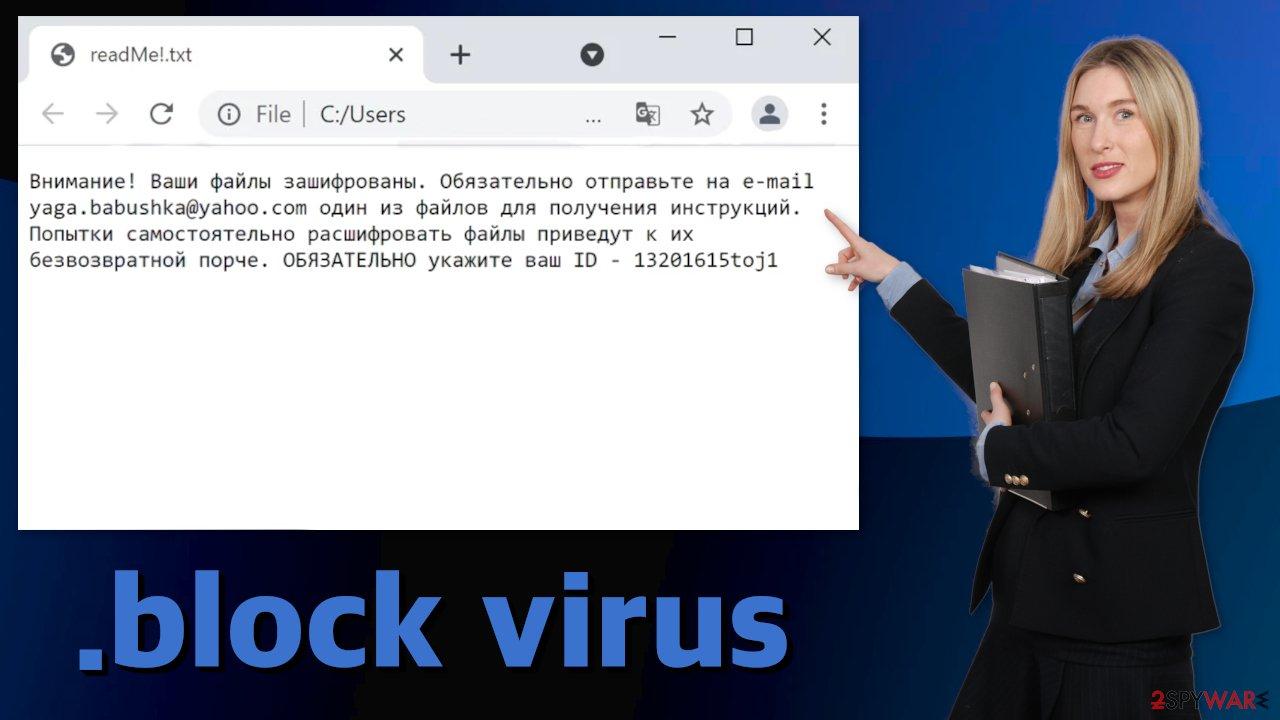 Block virus