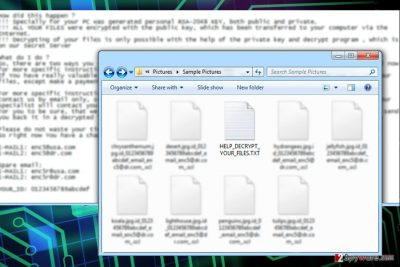 The image of BlockFile12 ransomware virus