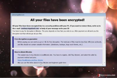 Blocking virus