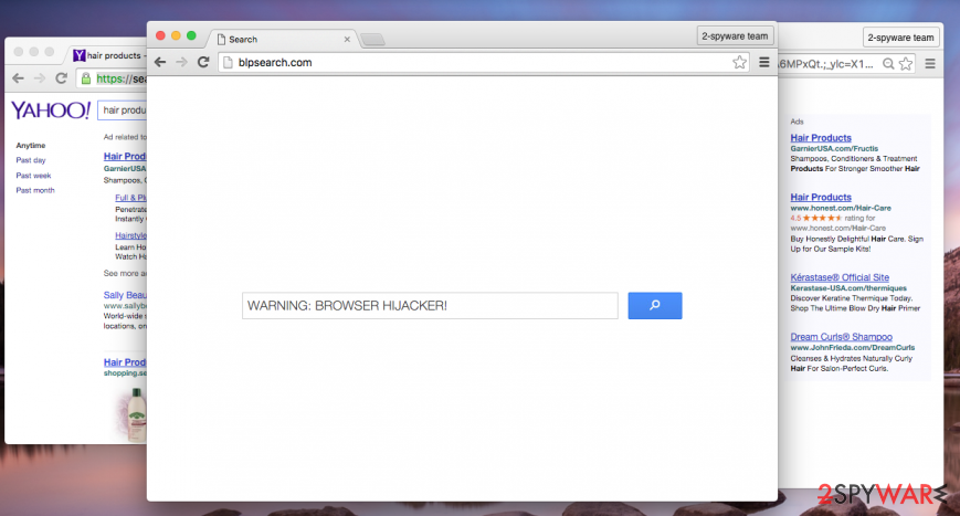 Blpsearch.com hijack