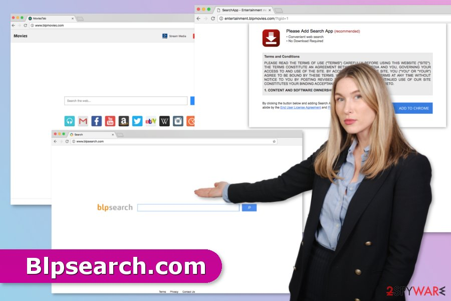 The picture of Blpsearch.com