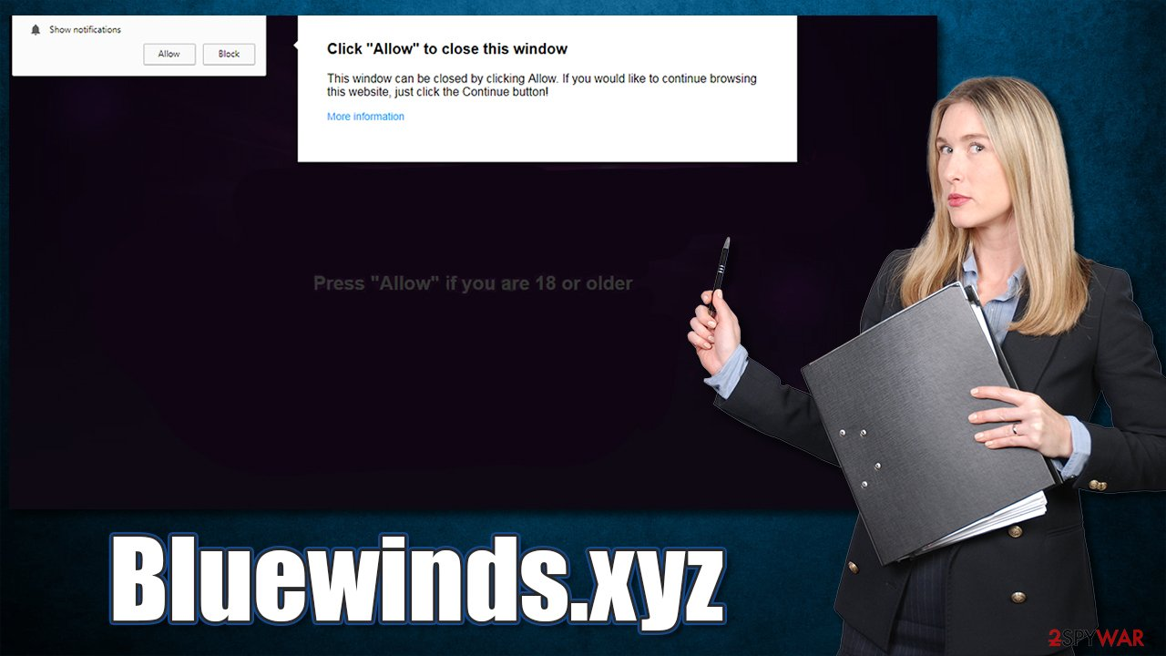 Bluewinds.xyz scam