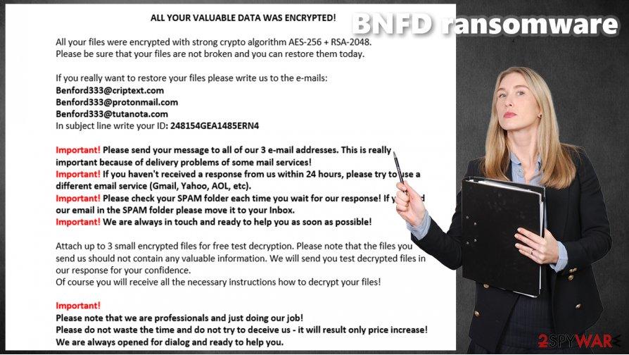 BNFD ransomware virus