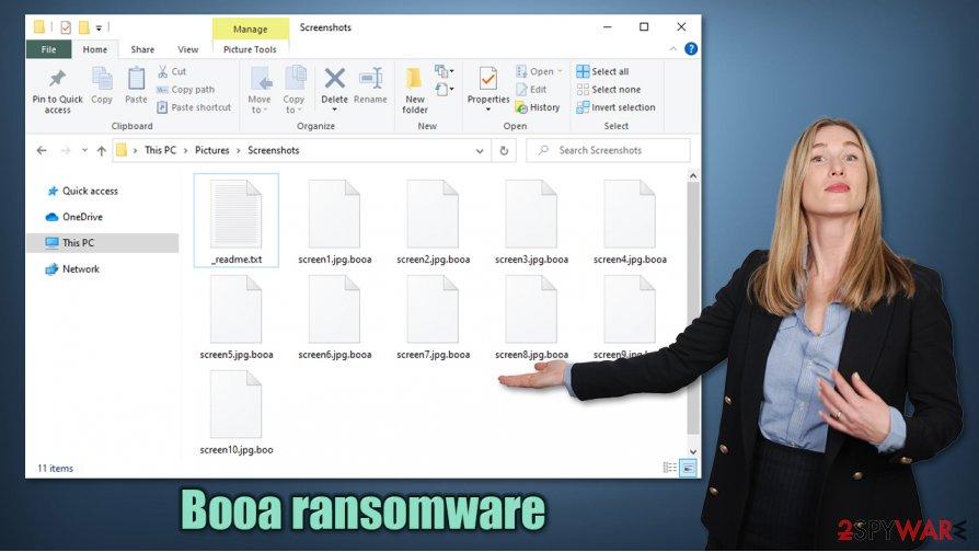 Booa ransomware virus
