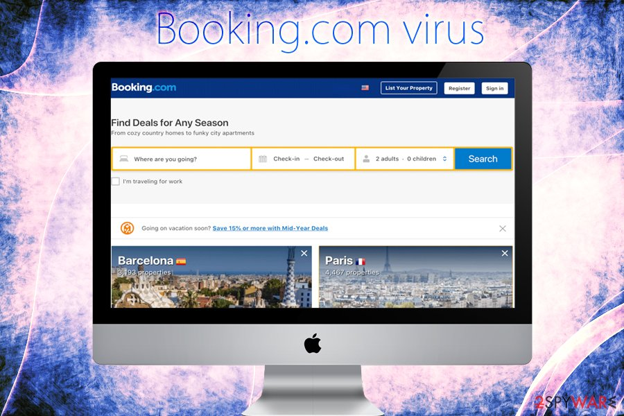 Booking.com virus