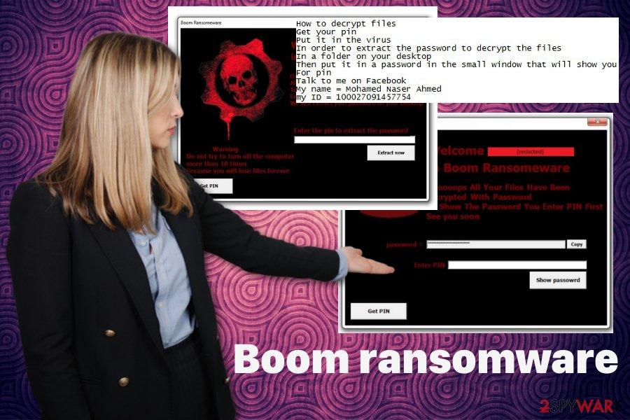 Boom ransomware virus