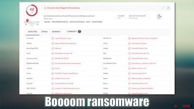 Boooom ransomware