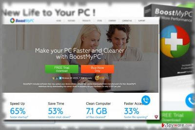 The image showing Boost My PC