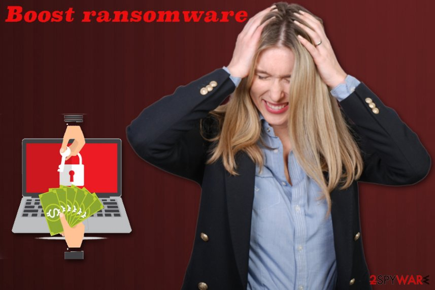 Boost ransomware