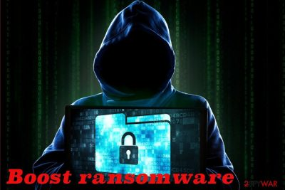 Boost ransomware virus