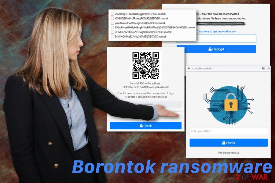 Borontok ransomware virus