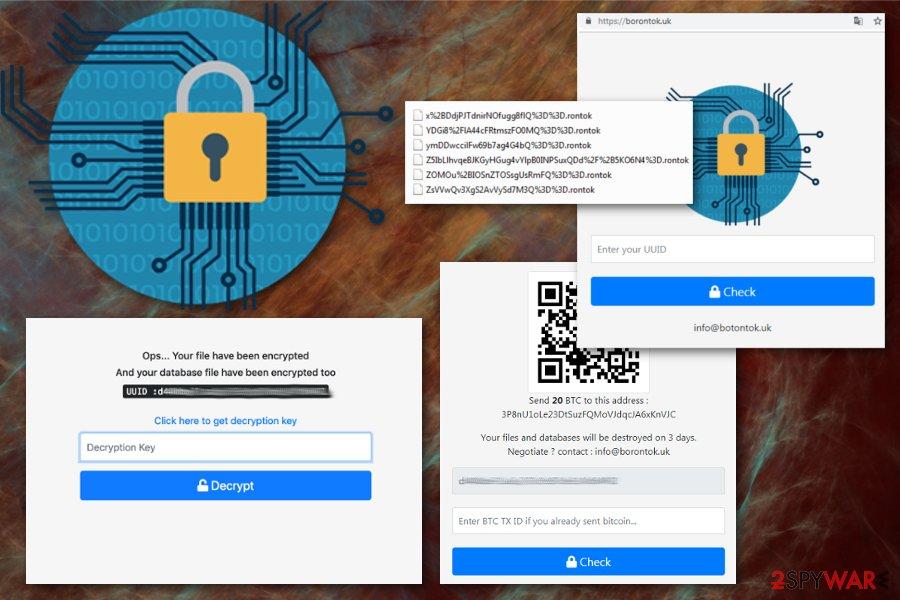 Borontok ransomware