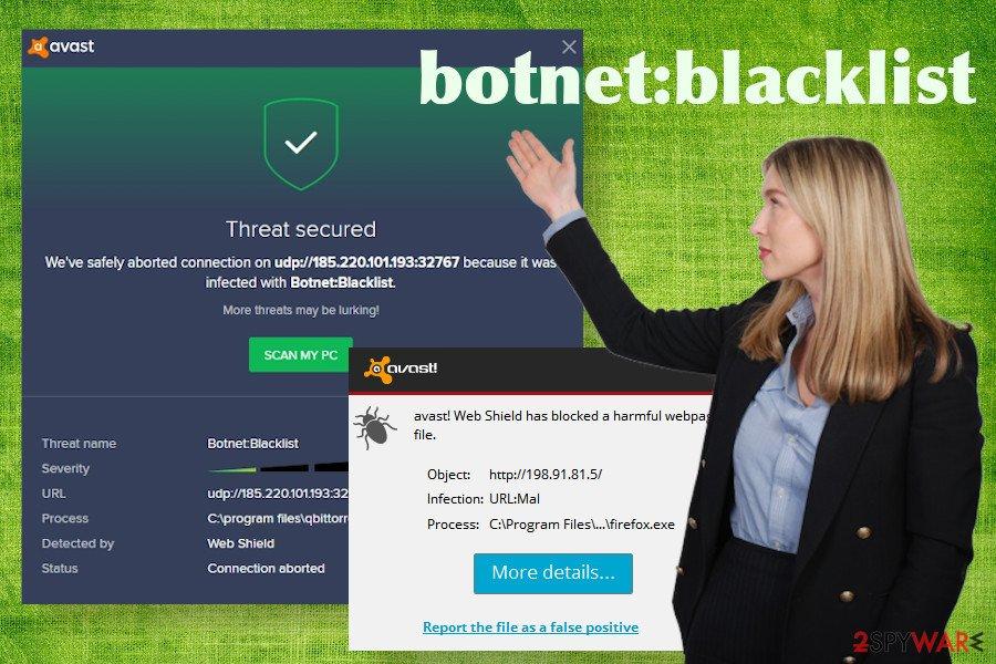 Botnet Blacklist malware
