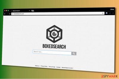 Boxedsearch.com virus