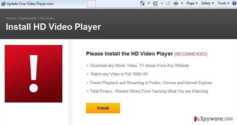 Br Media Player adware