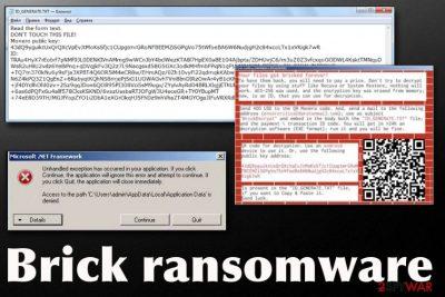 Brick ransomware