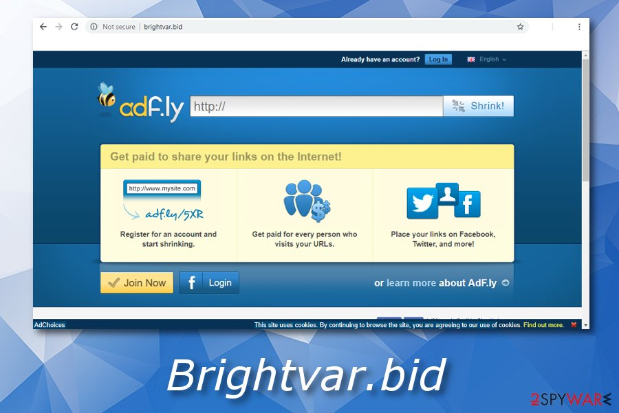 Brightvar.bid ad-supported program