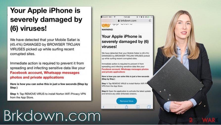 Brkdown.com scam
