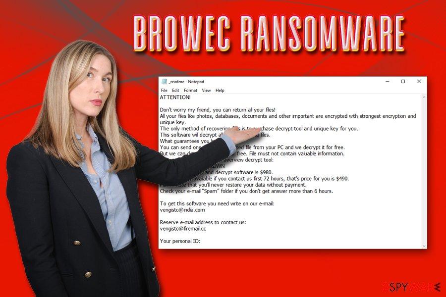 Browec ransomware virus