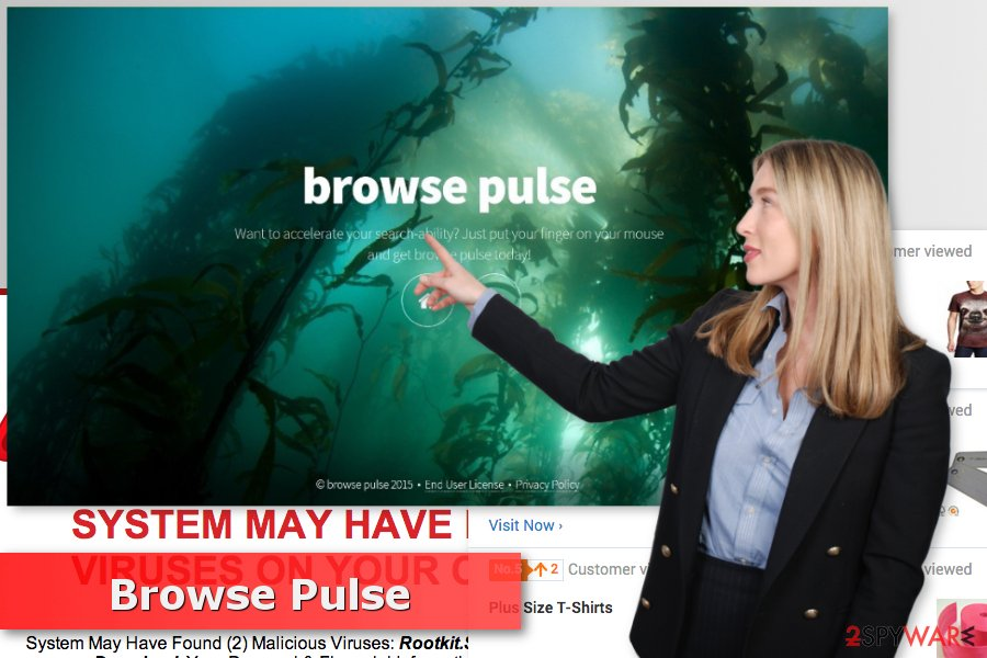 The picture of Browse Pulse virus