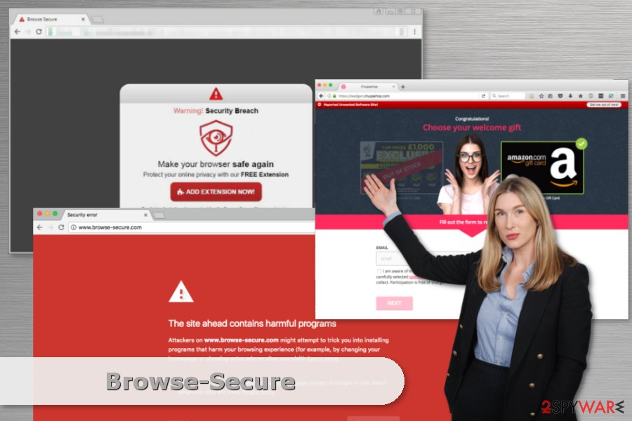 Example of Browse-Secure malware