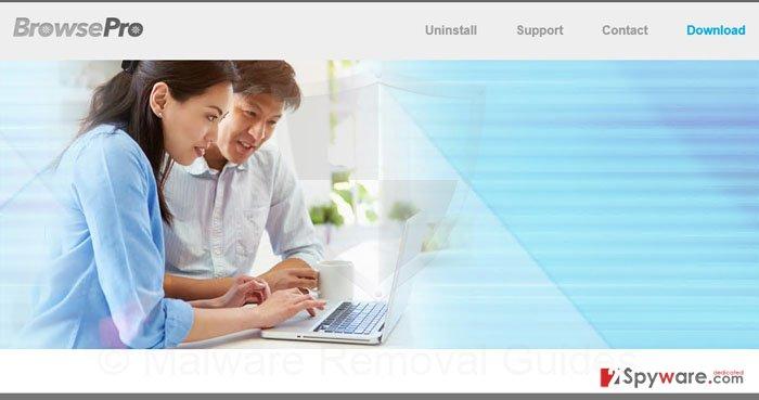 BrowsePro ads snapshot