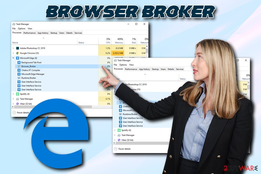 Browser Broker virus