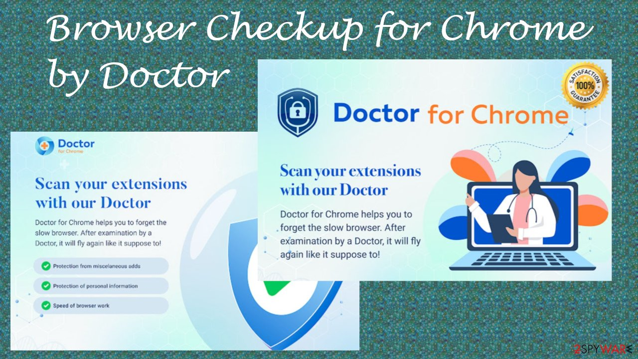 Browser Checkup for Chrome by Doctor browser hijacker
