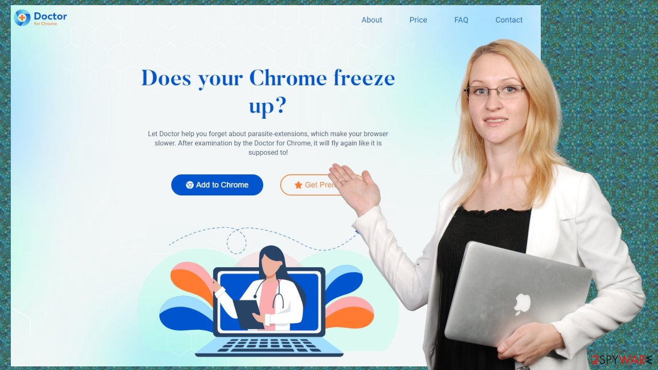 Browser Checkup for Chrome by Doctor adware