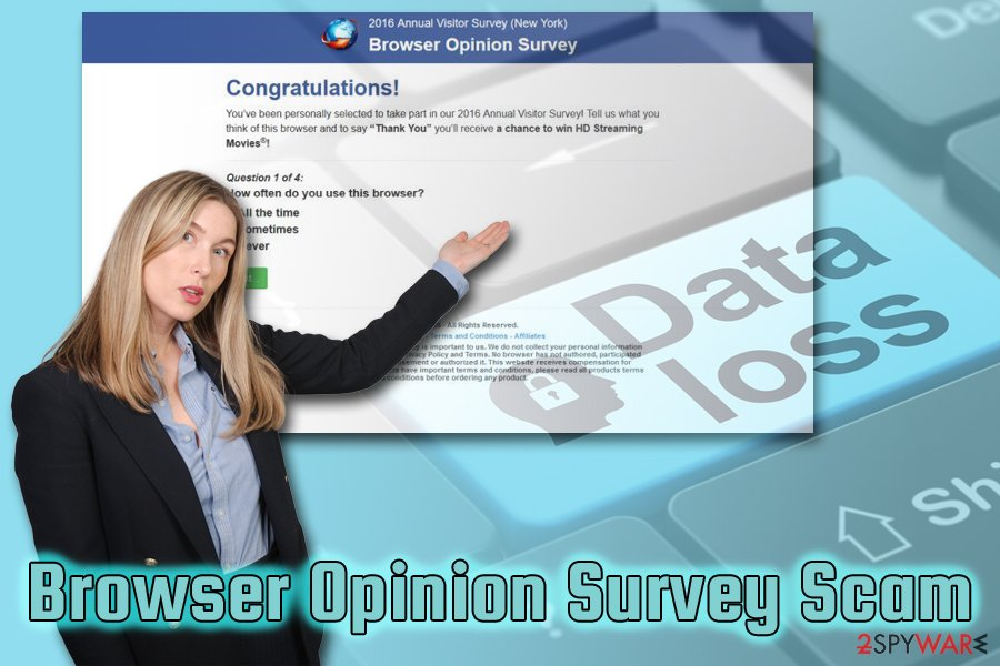 Browser Opinion Survey adware scam